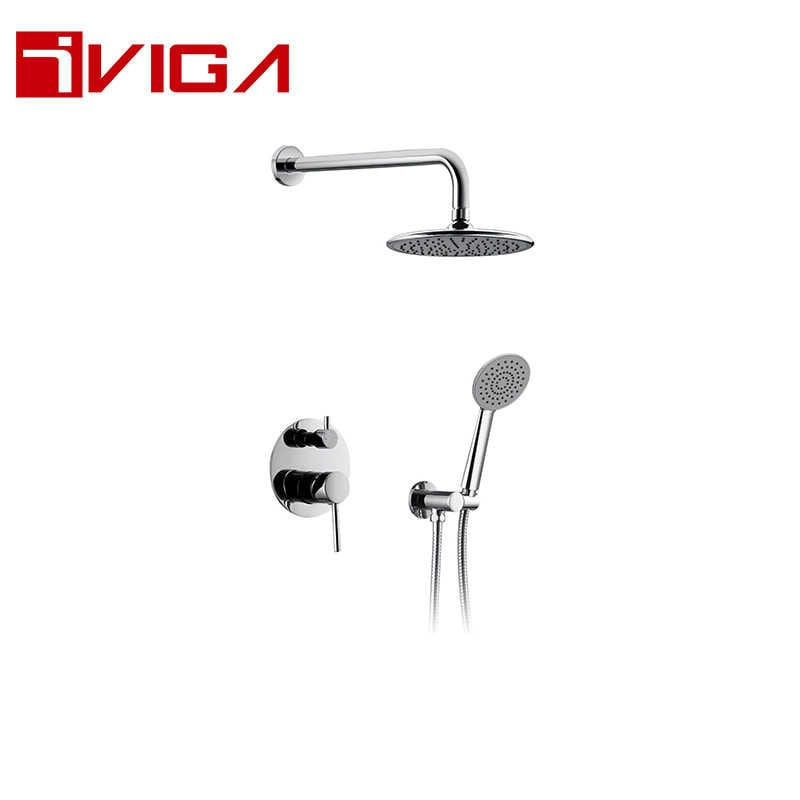 137200CH Concealed Shower Faucet Set