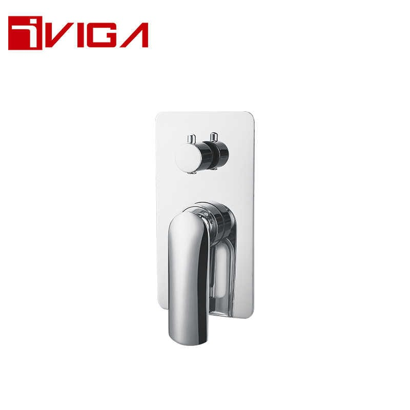 767000CH Concealed Shower Faucet With Diverter