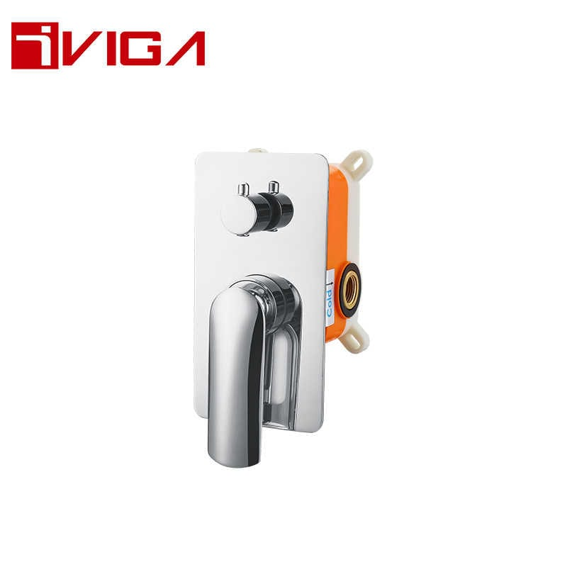 7670B0CH Embedded Shower Faucet With Diverter