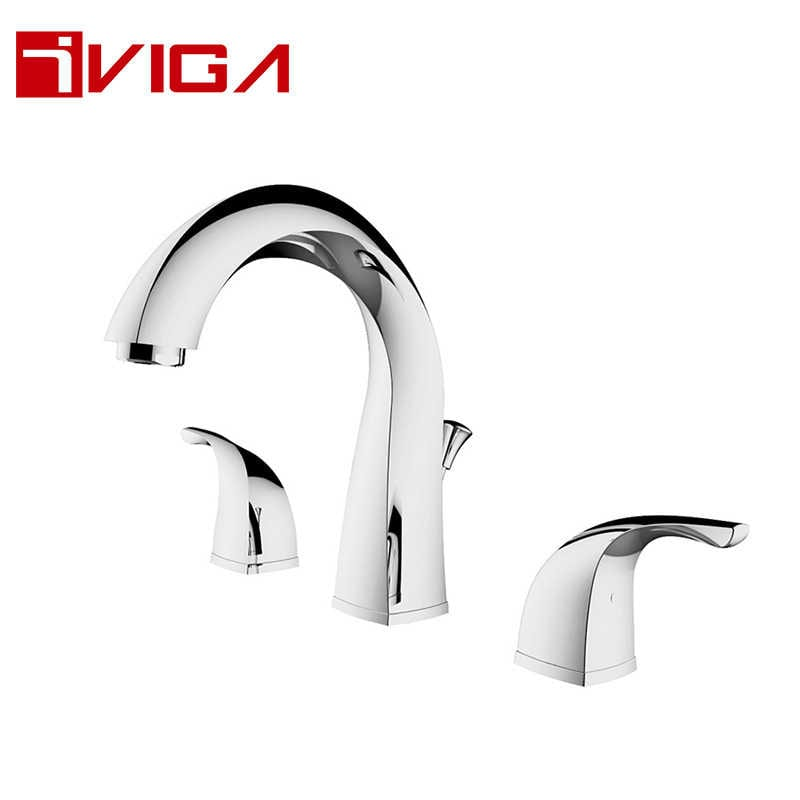 804300CH Deck mounted 3-hole basin Faucet