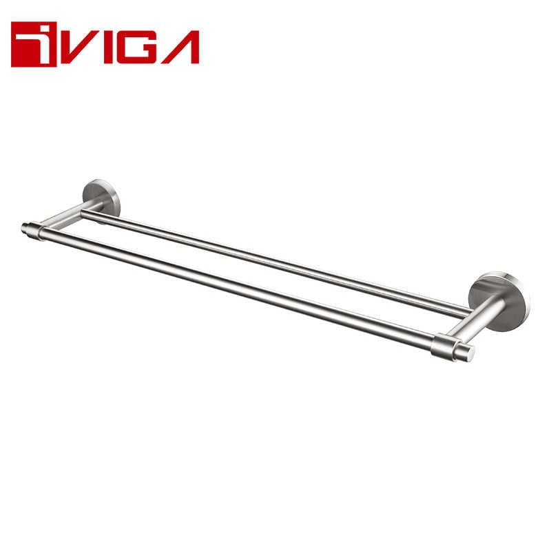 480810BN Double towel bar