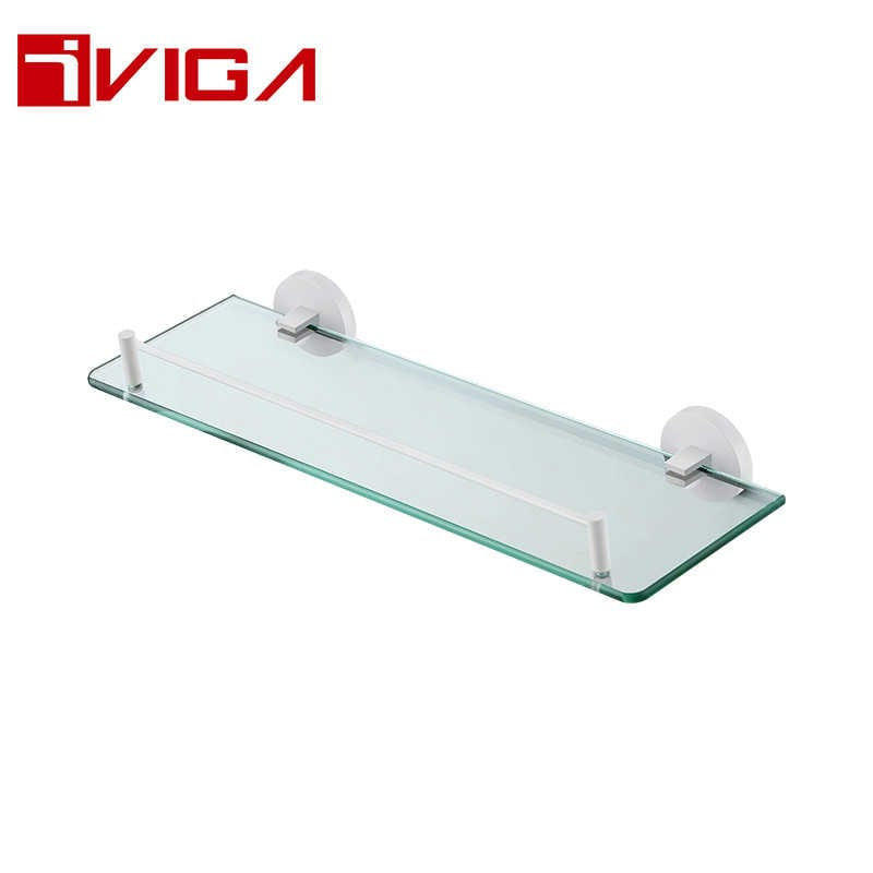 480813YW Single layer glass shelf