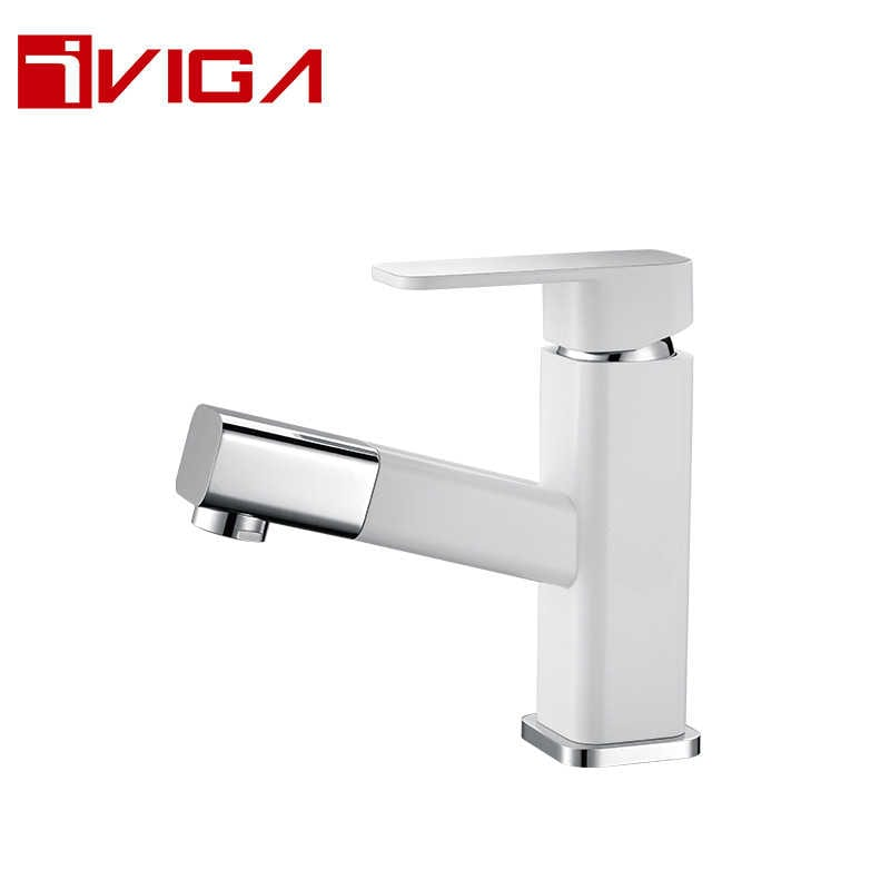 99110401LWC Pull out basin faucet