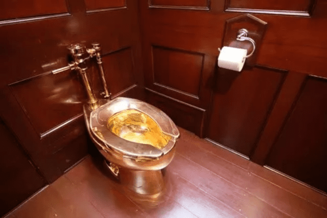 The 18K gold toilet was stolen! More than 8.85 million yuan!