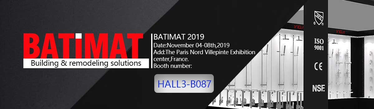 Exhibition:BATIMAT 2019